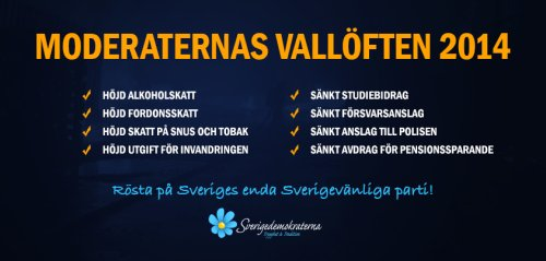 Moderaternas vallöften